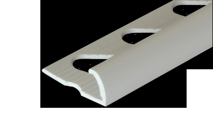 Fehér csempe élvédő - Fehér csempe élvédő