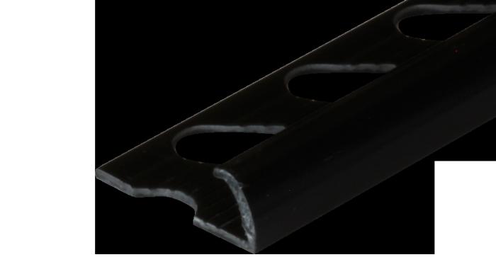 Fekete csempe élvédő - Fekete csempe élvédő